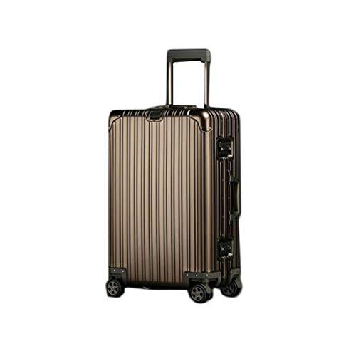 YNuo - Bolsa de Viaje Dura, Maleta, Simple, Organizador de Viaje, Color Azul - 20 Pulgadas Esencial para Viajar, Herramienta de Almacenamiento de Gran Capacidad