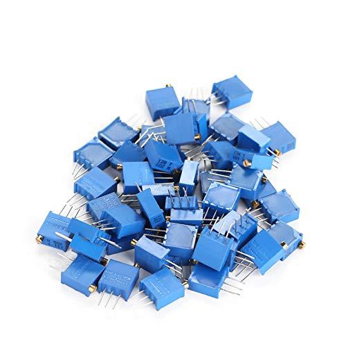 Widerstandssortiment, verschiedene Widerstände 3296W Leistungswiderstände Widerstände, DIY für DIY-Projekte Experimente Arduino