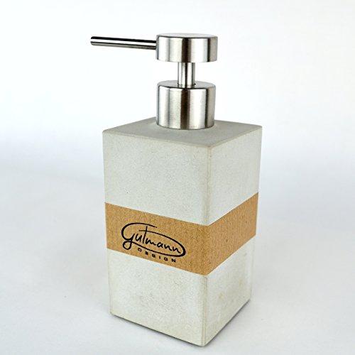 Seifenspender aus Beton Flüssigseife Pumpspender handgemacht in Deutschland