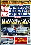 AUTO PLUS [No 729] du 27/08/2002 - LA VOITURE IDEALE - LE PALMARES DES DIESELS LES...