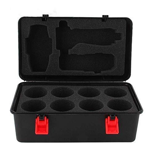 3T6B Bey Battling Top Storage Case, 8pcs Burst Tops Storage Case Spinning Top and Launcher Set Storage Box for Children
