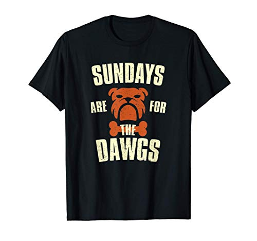 Sundays are for the dogs Cleveland Ohio T-Shirt