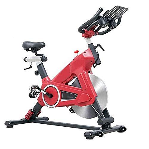 WJFXJQ La Bici de Ciclo Indoor - Bicicletas fijas de Entrenamiento con Volante, la Resistencia y la Pantalla LCD Ajustable del Monitor for el hogar Ejercicio