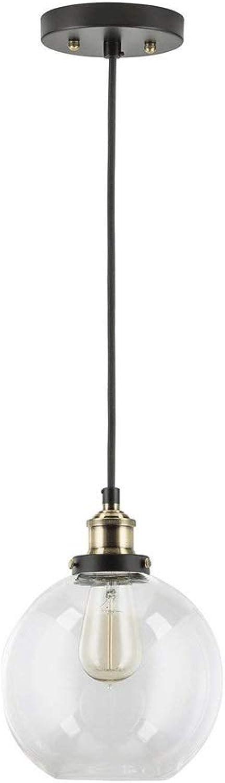 5GHjkj Modernes minimalistisches Glas verschob Lampe europischen Stil transparent einzigen Kopf Kronleuchter kreative Büro Schlafzimmer Cafe Droplight