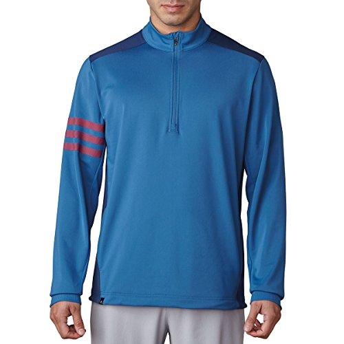 adidas Performance LC Veste avec Zip de Golf, Homme XS Bleu