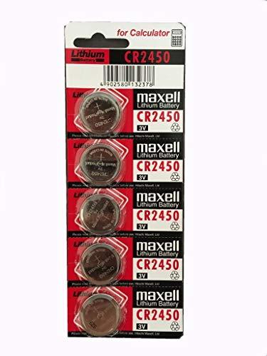 Oferta de Maxell 19040815 Pila Boton Litio CR2025 (Blister 5 Pilas)