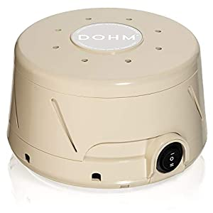 crib bedding and baby bedding yogasleep dohm classic (tan) the original white noise machine | soothing natural sound from a real fan | noise cancelling | sleep therapy, office privacy, travel | for adults, baby | 101 night trial