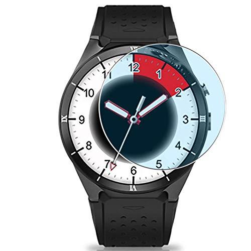 Vaxson 3 Unidades Protector de Pantalla Anti Luz Azul, compatible con Kingwear KW88 Pro smartwatch Smart Watch [No Vidrio Templado] TPU Película Protectora