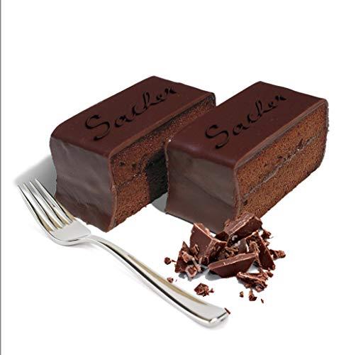 Torta Sacher classica al cioccolato, 10 fette - 1,2 kg, la torta al cioccolato più amata al mondo. Torta fresca di pasticceria