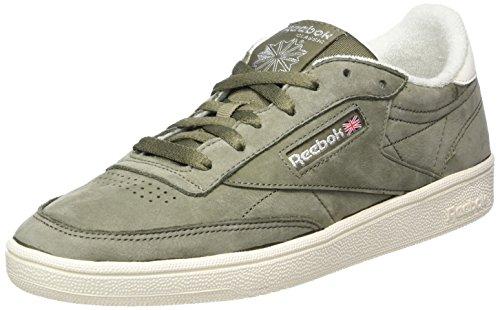 Reebok Club C 85 VTG, Zapatillas de Tenis Mujer, Verde (Soapstone/Chalk/Pure Silver 000), 36 EU