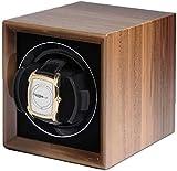 YAYY Caja enrolladora de Reloj de Gama Alta Utilizada para enrollar Relojes mec├бnicos de Gama Alta Colecci├│n de Almacenamiento de exhibici├│n 6 velocidades de Carga de Nogal-Nuez Upgrade