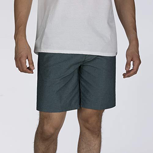 Hurley M Dri-Fit Breathe 21' Shorts, Uomo, Blu (Light Aqua), 34