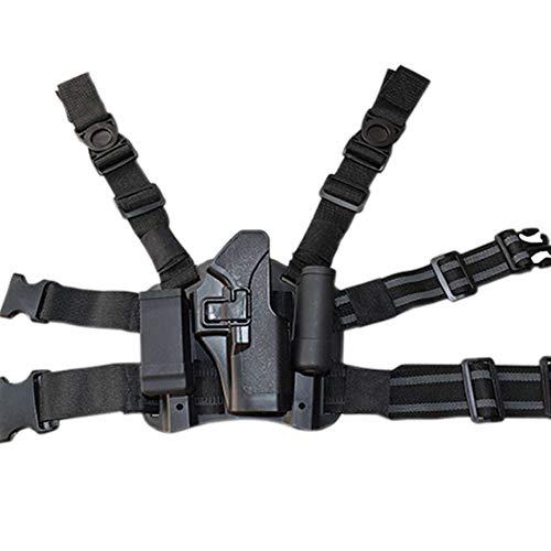 OAREA Glock Beinholster Airsoft Pistole Jagd Pistolenholster Glock Serie 17 19 22 23 31 32 Links- / Rechtshänder Drop