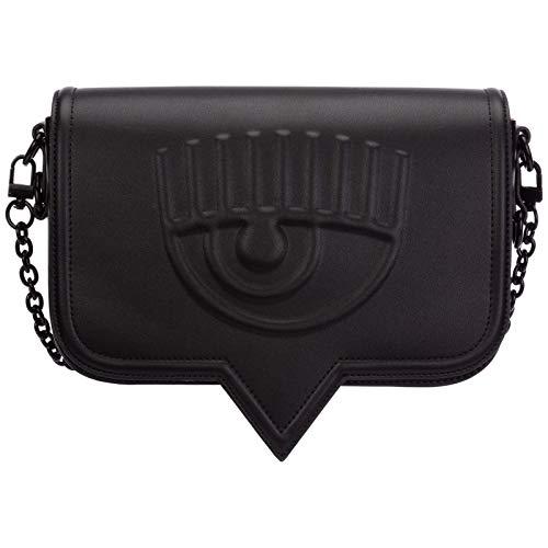 Chiara Ferragni mujer Eyelike bolsa de asa larga black
