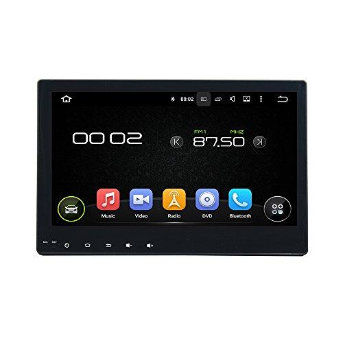 KUNFINE Android 10 Octa Core 4G Ram 32 Go de ROM Autoradio GPS La Navigation DVD Lecteur multimédia Commande au Volant Headunit Stéréo PourTOYOTA Hilux 2016-2017