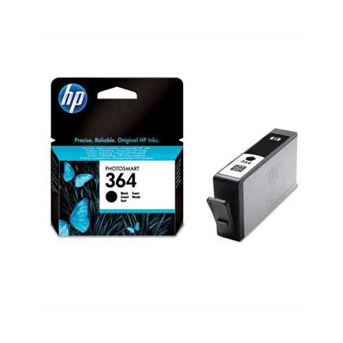 Original Tinte HP 364 , NO 364 , Nr 364CB 316 EE , CB316EE , CB316EEABB , CB316EEABE , CN 680 E - Premium Drucker-Patrone - Schwarz - 250 Seiten - 6 ml