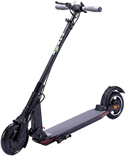 E-twow Booster GT 2020 Smart Edition Electric Scooter with Pack Security | Helmet + Strap & Carrying Handle + Safety Mask | Black