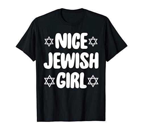 Funny Jew T-Shirt Nice Jewish Girl Hanukkah Gift T-Shirt