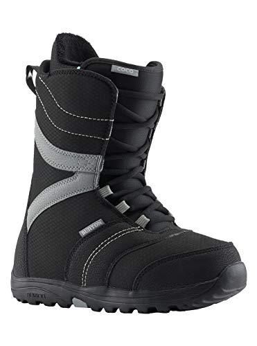 Burton Damen Coco Black Snowboard Boot, Schwarz, 39 EU(Herstellergröße: 5.5)