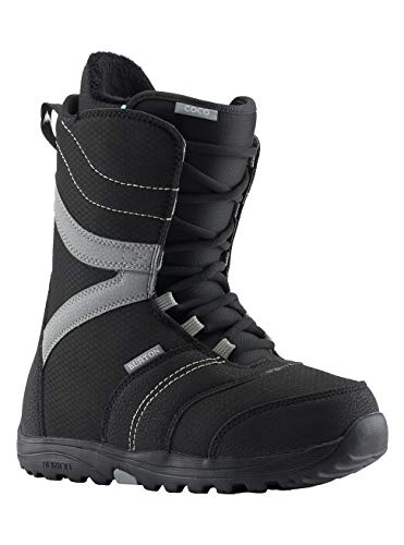 Burton Damen Coco Black Snowboard Boot, Schwarz, 38 EU(Herstellergröße: 5)