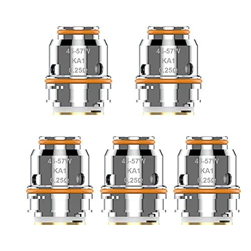 Original Geekvape Z coil Z0.15 Coil 0.15ohm Z0.25 Dual Coil 0.25ohm Series Core for Zeus Sub Ohm Tank/Obelisk Tank/Aegis Legend 2 L200 Kit( Z0.25 Dual Coil 0.25ohm)