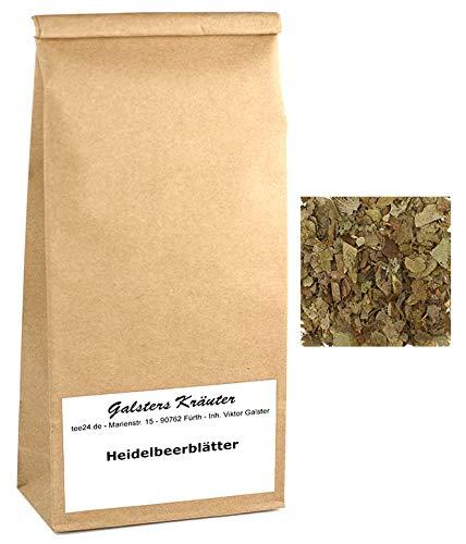 500g Heidelbeerblätter-Tee Blaubeere Wildsammlung | Galsters Kräuter