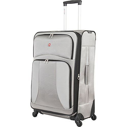 """SwissGear Pewter Spinner Luggage Collection 28"""" Spinner"""