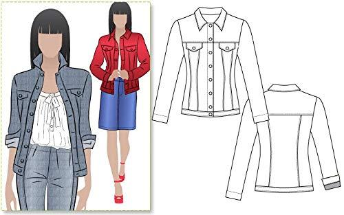 Style Arc Schnittmuster Stacie Jean Jacke (Größen 04-16)