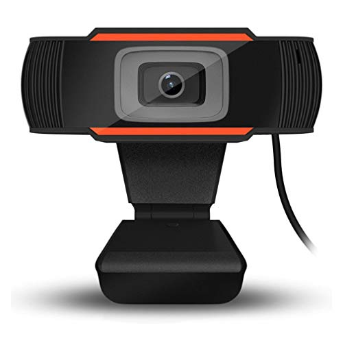 cámara giratoria HD Webcam 720 p USB cámara de grabación de vídeo cámara Web con micrófono para PC Ordenador