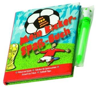 Mein Kicker-Spaß-Buch, m. Kugelschreiber