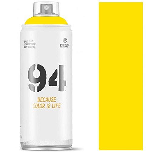 Pintura en spray MTN 94 RV-1021 Amarillo Claro 400ml