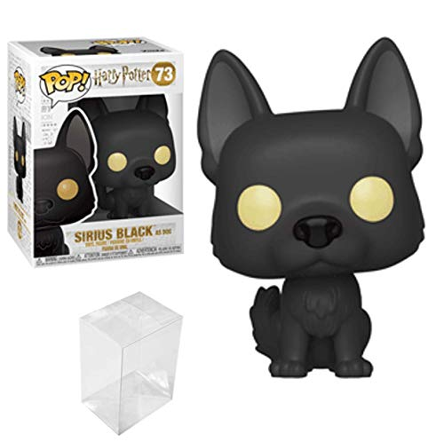 Funko Pop! Harry Potter S5 - Sirius Black as Dog Bundled with A PopShield Pop Box Protector image