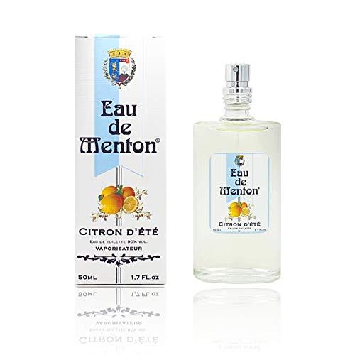 Eau de Menton - Citron d'Eté - Citron Fleur d'Oranger - Prestige de Menton, Artisan Parfumeur (50 ml)