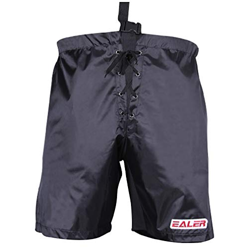 Ealer Eishockeyhose für Kinder und Senioren, Herren, schwarz, Adult S