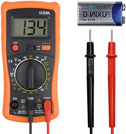 Digital Multimeter Pocket Clamp Multimeters Multi Tester Voltmeter Ammeter Ohmmeter AC DC Ohm product image