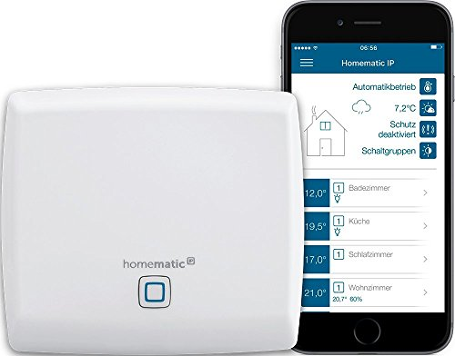 Homematic IP Access Point - Smart Home Gateway mit kostenloser App und Sprachsteuerung über Amazon...