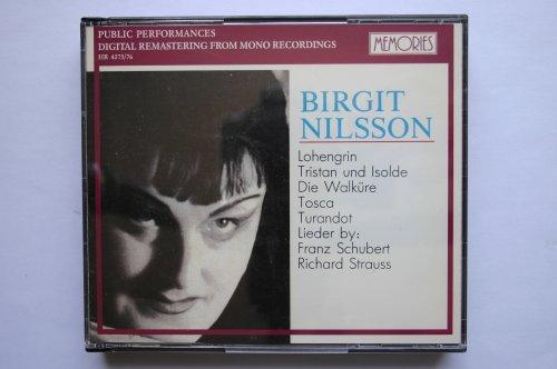 Birgit Nilsson - Great Voices - Public Performances (2 CD Box) (Memories)