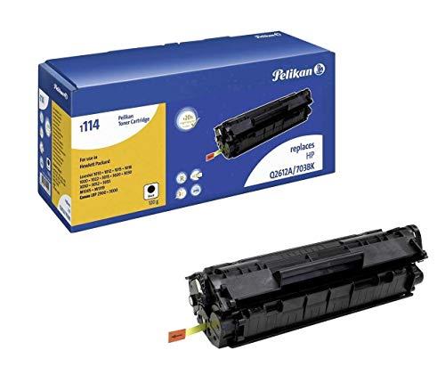 Pelikan 624222 Q2612 LJ, Tóner de Láser para Impresoras HP LaserJet, 2000 Páginas, Negro ✅