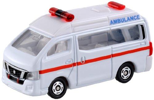 トミカ No.18 日産 NV350 キャラバン 救急車 箱