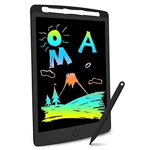Richgv Tavoletta Grafica LCD Scrittura Digitale, Elettronico 10 Pollici Portatile Ewriter Cancellabile Disegno Pad Writing Tablet con Stilo per Bambini Adulti della Casa Scuola Ufficio