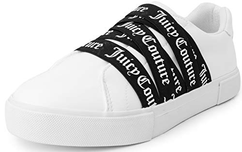 Juicy Couture Carrie Women Lace Up Fashion Sneaker Casual Shoes Carrie...