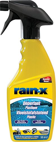 RainX - Plástica Repelente al agua, Spray, 500 ml