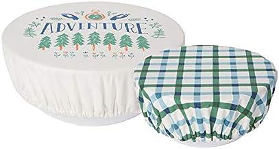 غطاء وعاء قابل لإعادة الاستخدام جوبيلي آوت آند أباوت سيف إت من دانيكا، DIA7.12 سم وDIA9.63 سم، مجموعة من قطعتين