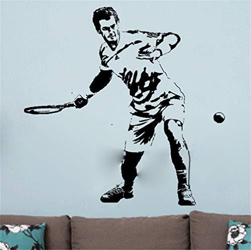 Wandtattoo Schlafzimmer Andy Murray Tennis Wimbledon Championships Aufkleber Dorm Home Room Interior Decoration Für Jungen Schlafzimmer wandaufkleber 3d Wandtattoo Kinderzimmer