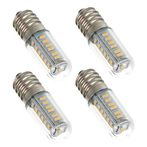 SOLUSTRE 4 bombillas de refrigeración, E14, 3 W, LED, de bajo consumo, para nevera