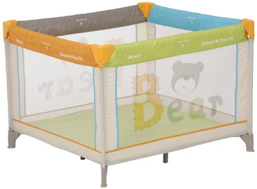 Hauck Reisebett Dream'n Play SQ, 96 x 96 cm, bear
