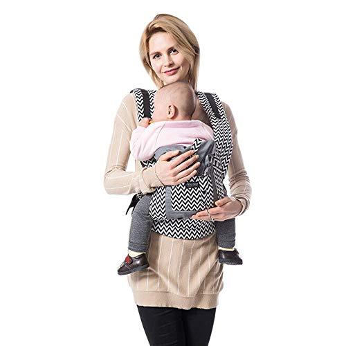 Bosi General Merchandise Aterrizaje de Mochila para bebé, Mochila ergonómica para bebé, portabebés de algodón recién Nacido