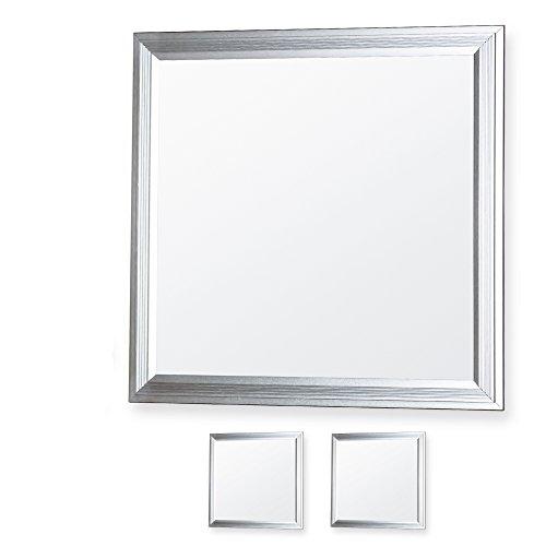 LEDVero 2er Set 30x30cm Ultraslim LED Panel 10W, 800lm, 4500K Deckenleuchte mit Befestigungsclips und EMV2016 Trafo -Neutralweiß- Energieklasse A