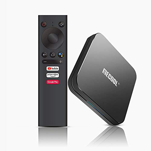 Mecool KM9 Pro 4 GB 32 GB Android 9.0 TV Box Google Certified Amlogic S905X2 Voice Control 2.4G & 5.8G Dual WiFi BT4.2 4K H.265 Media Player con I8 Tastiera