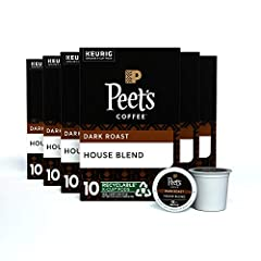HOUSE BLEND: The perfect introduction to our signature style, highlighting Alfred Peet's pioneering of rich, distinctive coffees—strictly high-grown, finest quality, and deeply roasted to maximize flavor. Flavor notes: Lively, sweet, familiar Latin b...